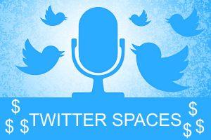 Monetización de cuenta Twitter con Spaces