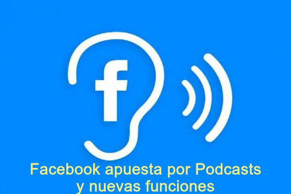 Facebook apuesta por podcasts