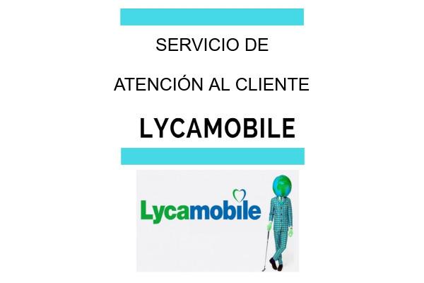 Atención al cliente lycamobile