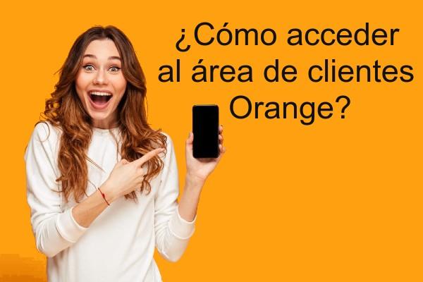 Orange área de clientes