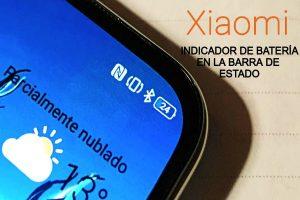 Indicador de batería Xiaomi