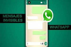 Mensajes invisibles con WhatsApp