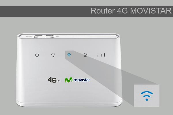 router 4G Movistar