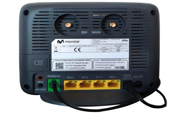 Modelos router 4G Movistar
