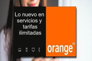 Ofertas en servicios y tarifas para Orange clientes