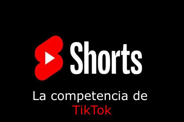 Youtube compite con tiktok creando shorts