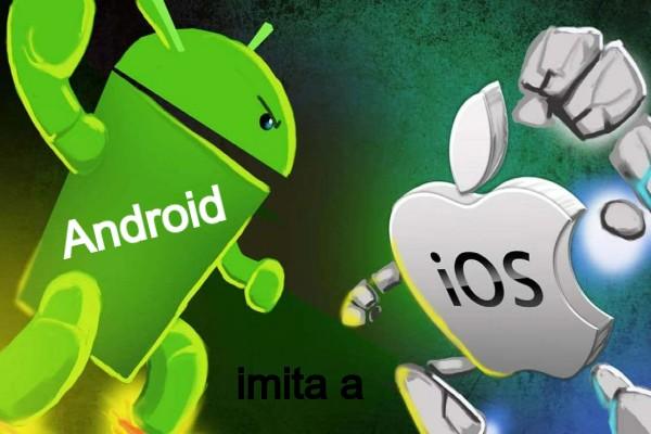 Android imita a Apple
