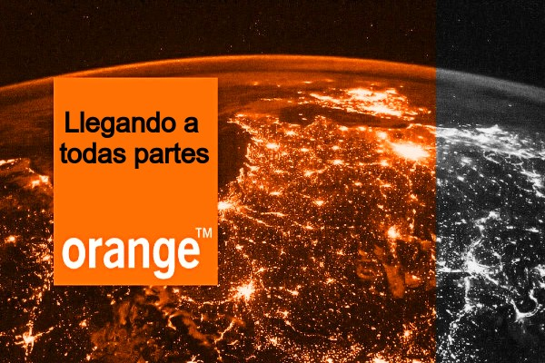 Cobertura Fibra Orange