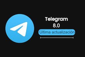 Características de la nueva actualización de Telegram