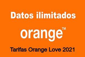 Tarifas y Ofertas de Orange Love