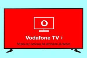 TV Vodafone: paquetes y precios